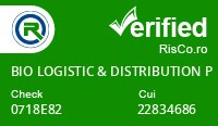 Date firma BIO LOGISTIC & DISTRIBUTION PARTENER SRL - Risco Verified