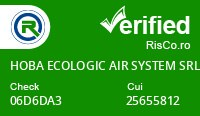 Date firma HOBA ECOLOGIC AIR SYSTEM SRL - Risco Verified