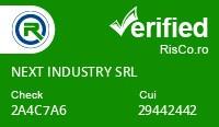 Date firma NEXT INDUSTRY SRL - Risco Verified