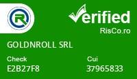 Date firma GOLDNROLL SRL - Risco Verified