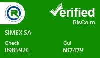 Date firma SIMEX SA - Risco Verified