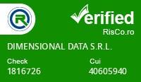 Date firma DIMENSIONAL DATA S.R.L. - Risco Verified