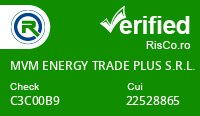 Date firma MVM ENERGY TRADE PLUS S.R.L. - Risco Verified
