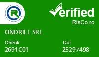 Date firma ONDRILL SRL - Risco Verified