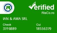 Date firma IAN & AMA SRL - Risco Verified