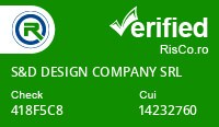 Date firma S&D DESIGN COMPANY SRL - Risco Verified