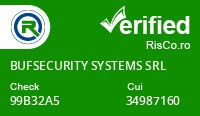 Date firma BUFSECURITY SYSTEMS SRL - Risco Verified